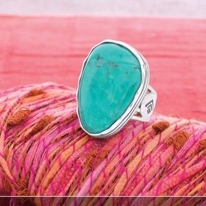 Silpada turquoise ring
